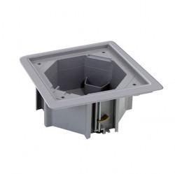 SConnect Коробка для монтажа влагостойкой основы KSE-... в фальш-пол, серый