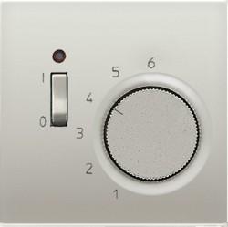 Термостат комнатный Jung LS METAL, стальной, TRES231