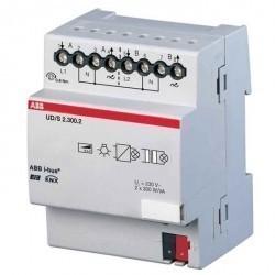 Универсальный светорегулятор 2х300Вт, UD/S 2.300.2